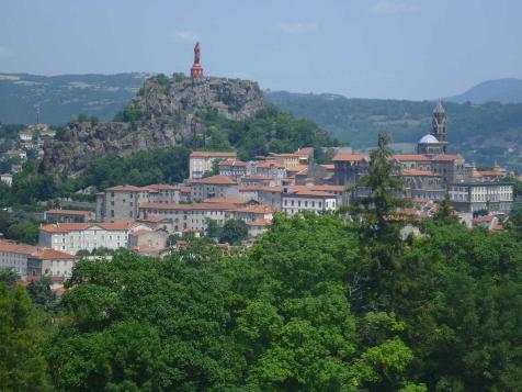 Chemins de Compostelle : St Romain Le Puy - Le Puy en Velay