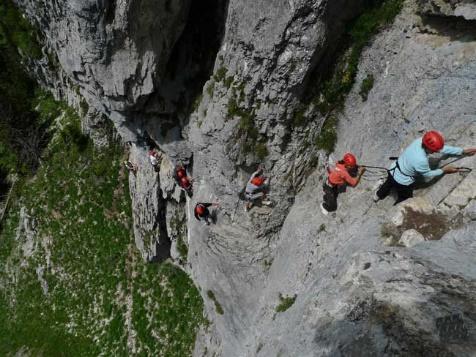 Week-end Canyoning & Via Ferrata Aravis