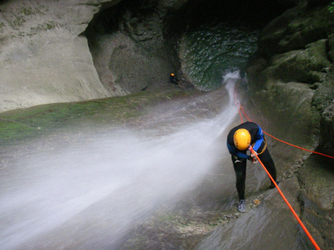 Week-end Canyoning & Spéléo Annecy