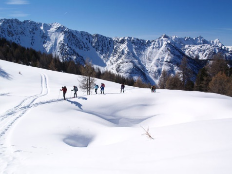 Balcons du Queyras - hiver