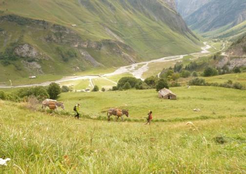 Tour du Mont Blanc Sud en Famille