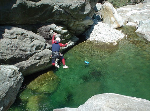Week-end Canyoning dans le Val d'Aoste