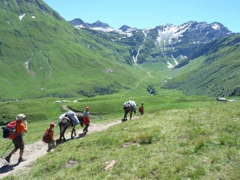 Tour du Mont Blanc Nord en Famille