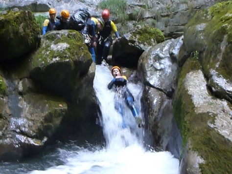 Week-end Canyoning Lac d'Annecy en Gîte